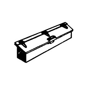 Precision Scale 31525 C-16 Tender Tool Box F, mässing, omålad