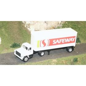 """Promotex 6157 USA Dragbil med skåptrailer """"Safeway"""""""