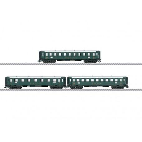 Märklin 42387 Vagnsset med 3 personvagnar typ SBB/CFF/FFS