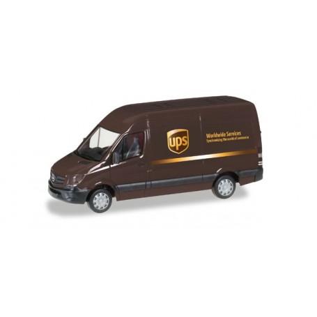 """Herpa 093408 Mercedes-Benz Sprinter Kasten HD """"UPS"""""""