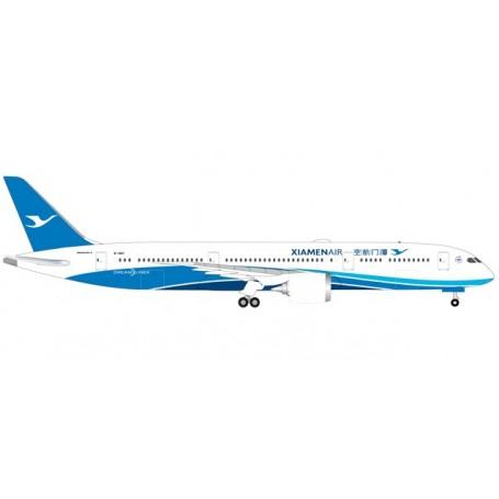 Herpa 530958 Flygplan XiamenAir Boeing 787-9 Dreamliner - B-1567