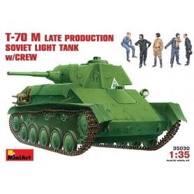 MiniArt 35030 Tanks T-70 M Late Prod. Soviet Tank med besättning