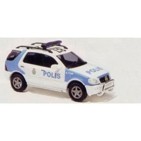 "Busch 48538 Mercedes Benz M-Klass Facelift ""Polis"", svensk polisbil"