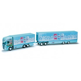 "Herpa 159555 Scania R TL road train ""Ristimaa Octopus"" (SF)"