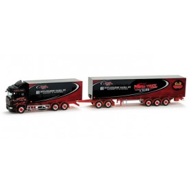 "Herpa 158688 Scania R HL road train ""Tynjälä"" (SF)"