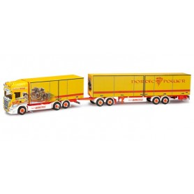 "Herpa 301947 Scania R TL gigaliner ""Jimmie Karlsson / Nordic Power"" (SE)"