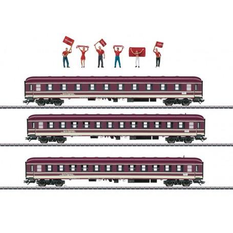 """Märklin 43947 Vagnsset med 3 personvagnar """"Euro-Express"""""""