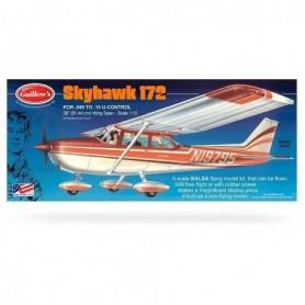 Guillows 802 Flygplan Skyhawk 172, byggsats i trä