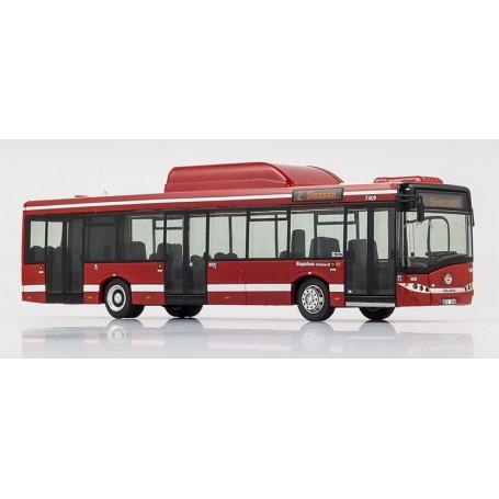 "VK Modelle 19482 Buss Solaris U12 CNG ""SL Stockholms Lokaltrafik"" 7409, Linje 2 ""Slussen"""