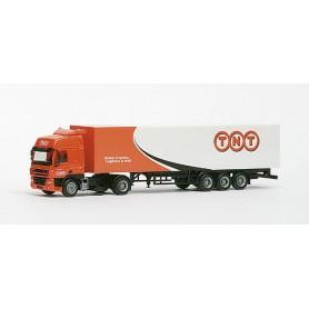 """Herpa 147491 DAF CF box semitrailer """"TNT"""""""