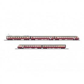 """Trix 22135 Motorvagnståg TEE """"Gottardo 125 Jahre Gotthardbahn 2007"""""""