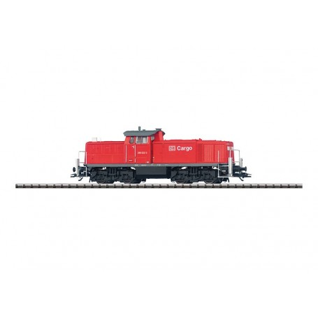 Trix 22208 Diesellok klass 290 German Railroad Inc. DB Caro, föredetta klass V90