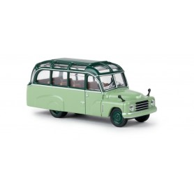 """Brekina 58182 Buss Hanomag L28, mossgrön/ljusgrön """"Von Starline"""""""
