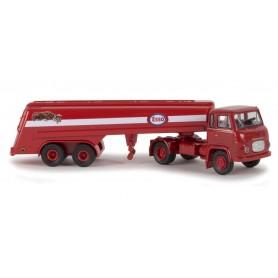 "Brekina 85164 Bil & Tanktrailer Scania LB 76 ""Esso"""