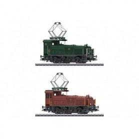 Märklin 36332 Sats med 2 växellok typ SBB/CFF/FFS