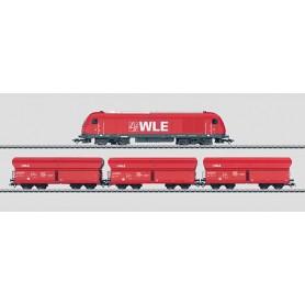 "Märklin 26548 Tågset ""WLE"" Diesellok klass ER 20 för Westfälischen Landes-Eisenbahn GmbH (WLE)"