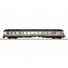 """Märklin 58434 Kontrollvagn med baggageavdelning Bdnf 735 2:a klass """"Silver Coin"""" """"Vädrad"""""""
