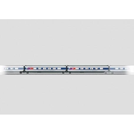Märklin 43430 Utbyggnadsset Nr 2 för TGV typ SNCF (train à grande vitesse), högfartståg