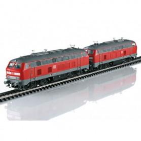 Märklin 37769 Diesellok dubbelkopplade DB AG klass 217