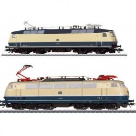 """Märklin 88179 Dubbelpack med 2 ellok typ DB """"Mässlok """"Nürnberg 2014"""""""