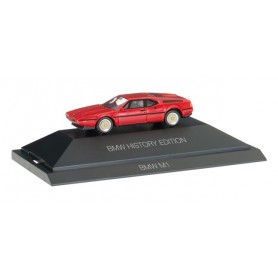 "Herpa 102025 BMW M1 ""BMW History Edition"""