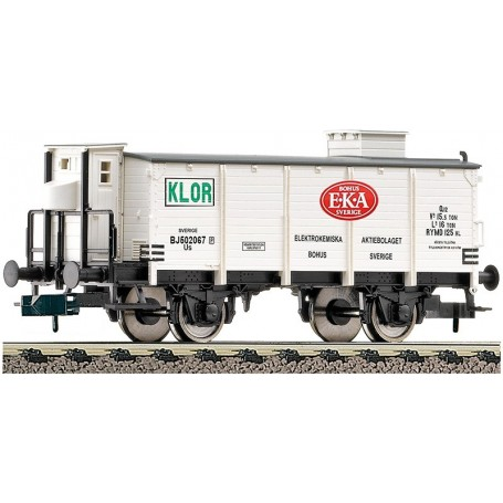 "Fleischmann 844905 Godsvagn typ SJ ""EKA"" kloringastransport"