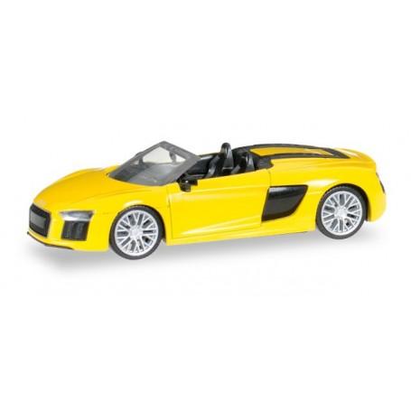 Herpa 028691 Audi R8 Spyder, vegas yellow