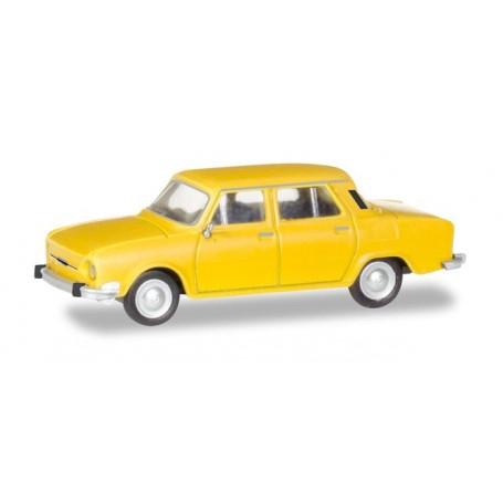 Herpa 028820 Skoda 110 L, honey yellow
