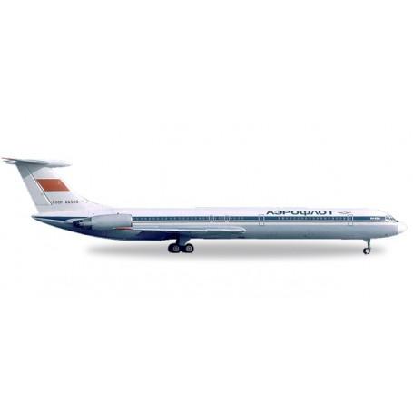 Herpa 530842 Flygplan Aeroflot Ilyushin IL-62M - CCCP-86502