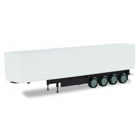 Herpa 075992.2 Canvas cover semitrailer 4 axle (unprinted)