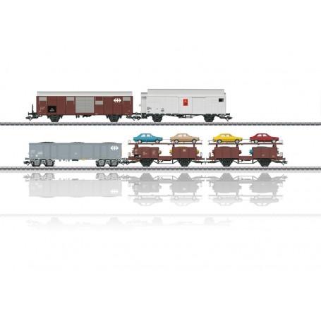 """Märklin 46567 Vagnsset med 4 vagnar typ SBB/DB """"Insider 2018"""""""