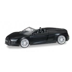 Herpa 038690 Audi R8 Spyder, mythos black pearleffect