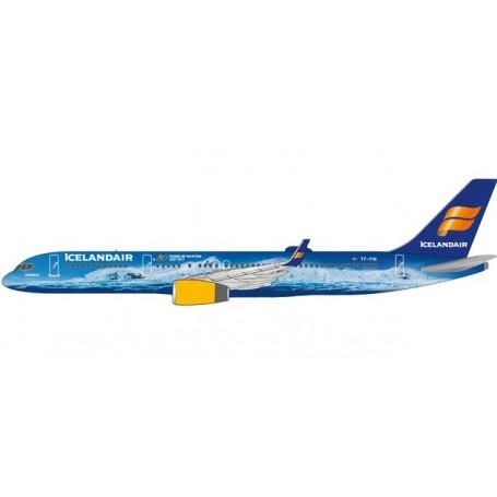 "Herpa 611848 Flygplan Icelandair Boeing 757-200 ""80 Years of Aviation"" - TF-FIR ""Vatnajökull"""
