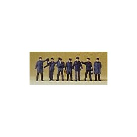 Preiser 79147 Järnvägspersonal och rangerare DB, 7 st