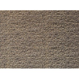"Faller 222565 Murplatta ""Granit"", mått 25,0 x 12,5 cm, papp"