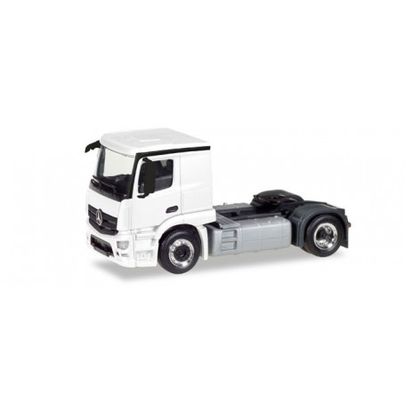 Herpa 013291 Herpa MiniKit: Mercedes-Benz Actros Classicspace 2,3 rigid tractor, white