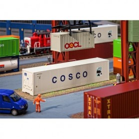 Faller 180851 40' Hi-Cube Refrigerator Container COSCO