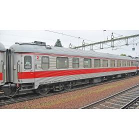 NMJ 205601 Personvagn 2:a klass B5S 55 74 2873 745-2 Tågab