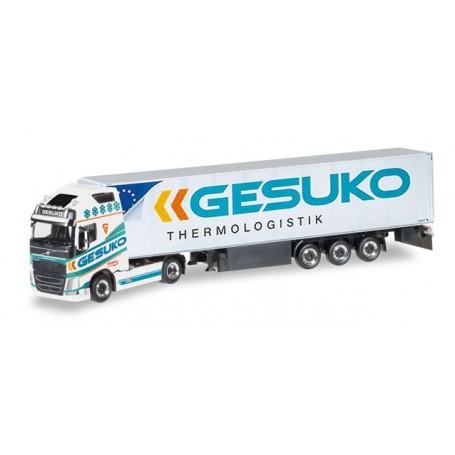 """Herpa 307994 Volvo FH Gl. refrigerated semitrailer """"GESUKO"""""""