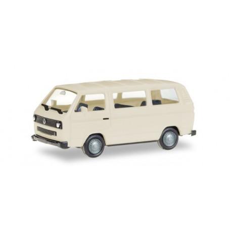 Herpa 013093 Herpa MiniKit: VW T3 Bus, ivory (unprinted)