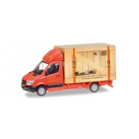 """Herpa 093286 Mercedes Benz Sprinter Koffer """"Spedition Wirtz"""""""