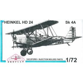 Broplan MS96 Flygplan Heinkel HD24 Sk 4A