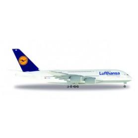 Herpa 515986.4 Flygplan Lufthansa Aírbus A380-800