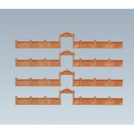 Faller 272405 Fabriksmur, längd 68,4 cm