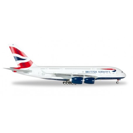 Herpa 556040.1 Flygplan British Airways Airbus A380
