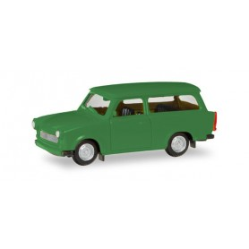 Herpa 020770.4 Trabant 601 S Universal, panama green