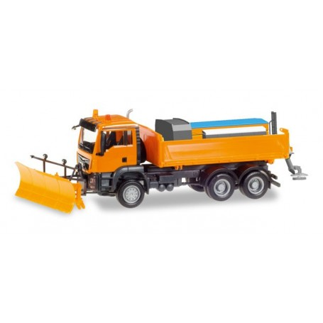 Herpa 307772 MAN TGS M 6x6 winter services kommunal