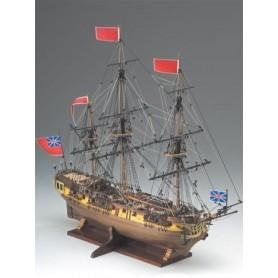 Corel SM59 HMS Greyhound 20 Gun Frigate 1720