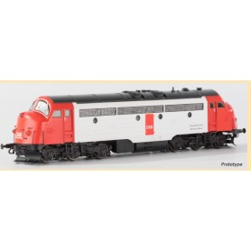 B Models 921305 Diesellok NOHAB typ DSB 21105 med ljudmodul