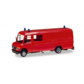Herpa 013260 Herpa MiniKit: Mercedes-Benz box type GW-A/S, red, incl. beacon lights